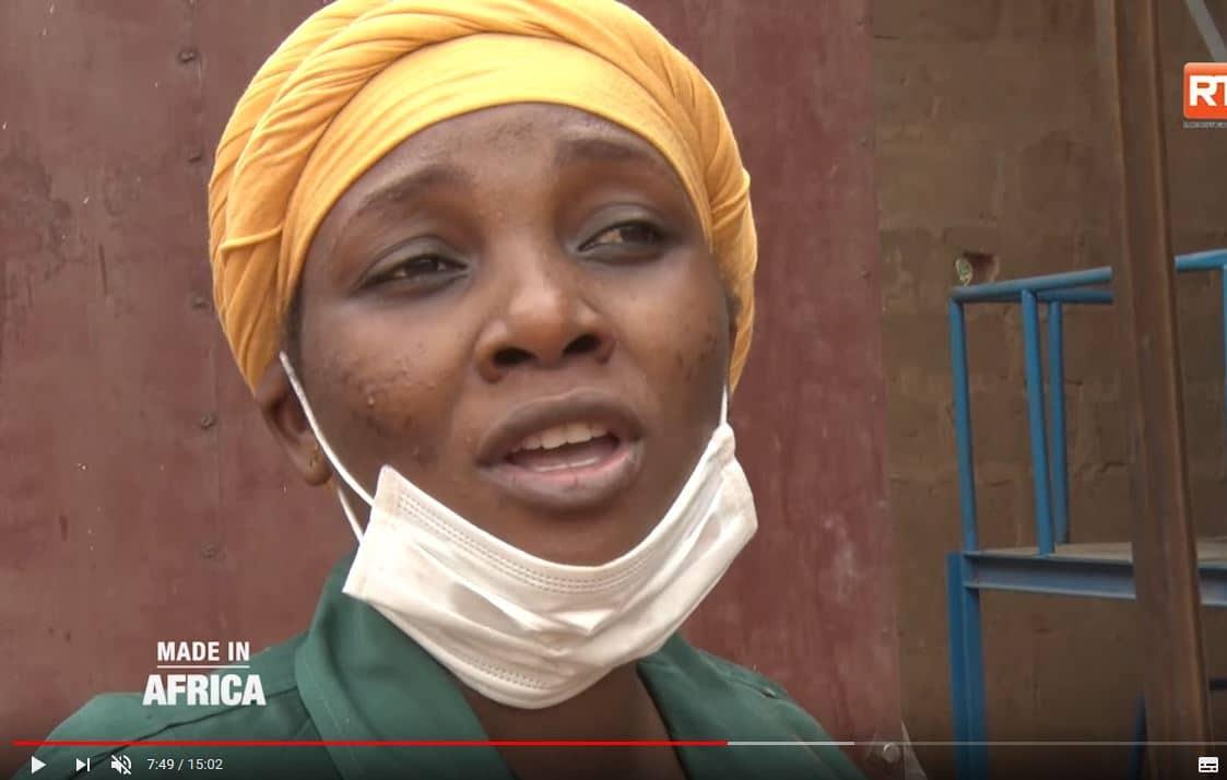 Portrait vidéo : Nafissa, entrepreneure dans l'aliment bétail