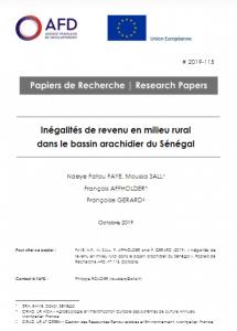 Rapport : Inégalités de revenu en milieu rural dans le bassin arachidier du Sénégal