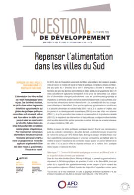 Question de développement n°45 : Repenser l'alimentation dans les villes du Sud