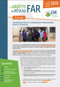 Gazette du réseau FAR - août à novembre 2019