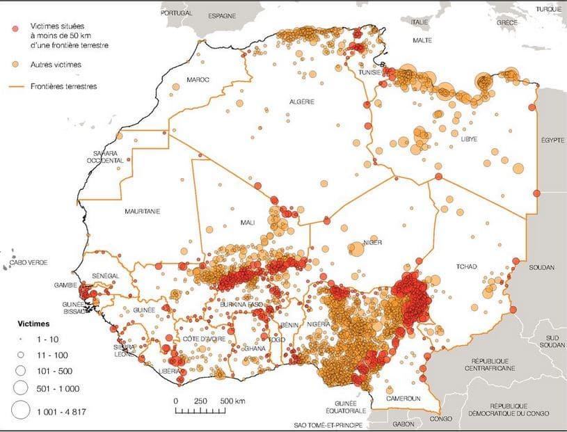Note : Frontières, sécurité et développement en Afrique de l'Ouest