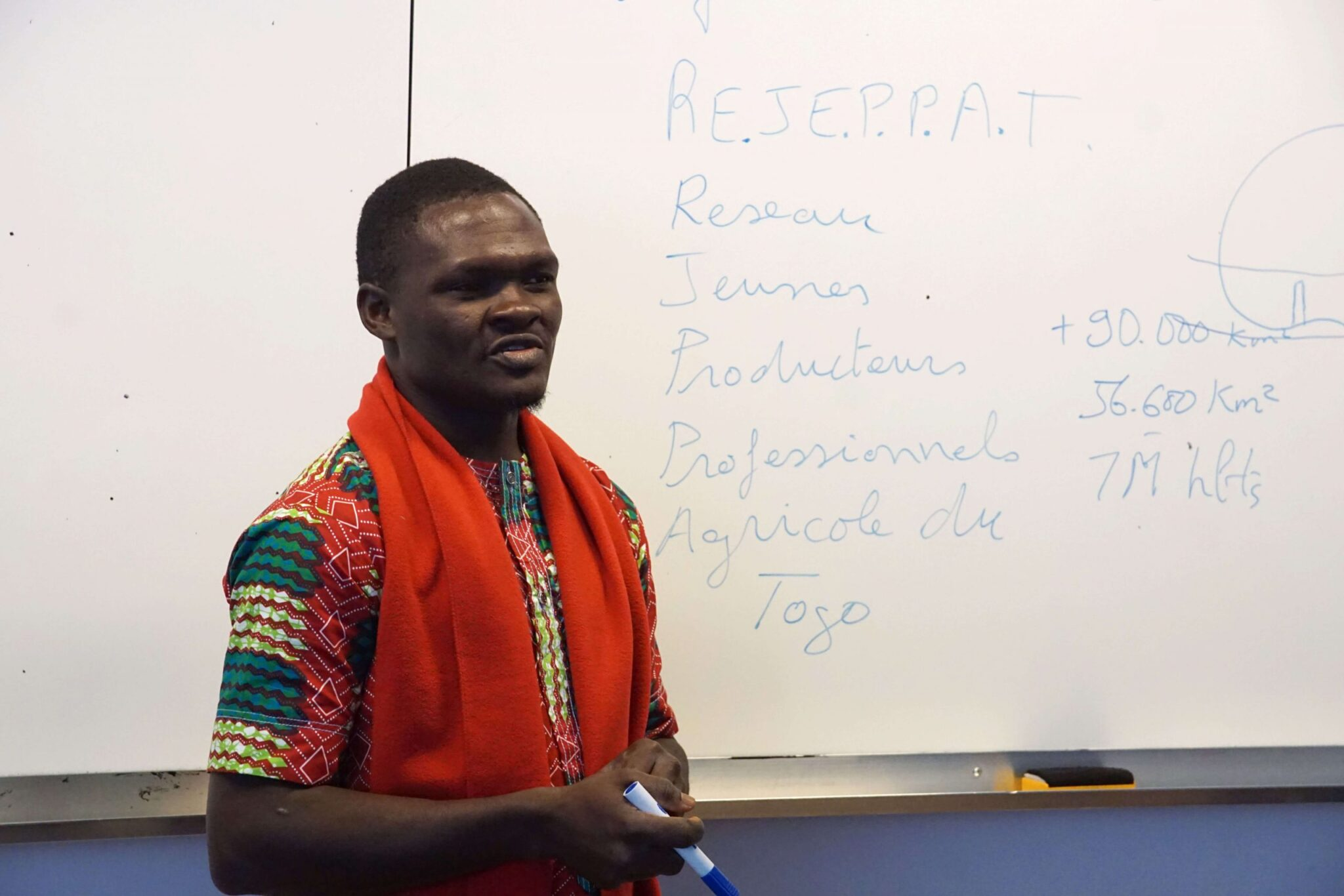 AFDI : à l'occasion du Festival Alimenterre 2019, des jeunes producteurs africains partagent leurs expériences avec des élèves français