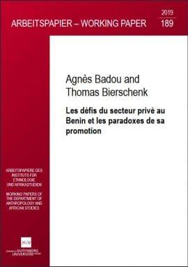 Etude : Les défis du secteur privé au Benin et les paradoxes de sa promotion