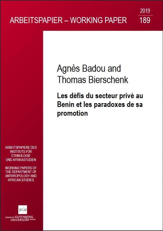 Les défis du secteur privé au Benin et les paradoxes de sa promotion