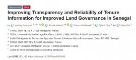 Publication sur la gouvernance foncière au Sénégal