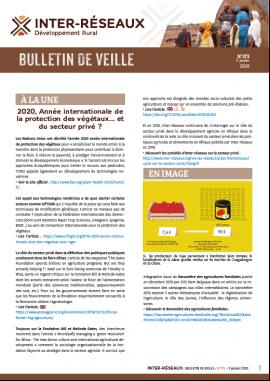 Bulletin de veille n°373
