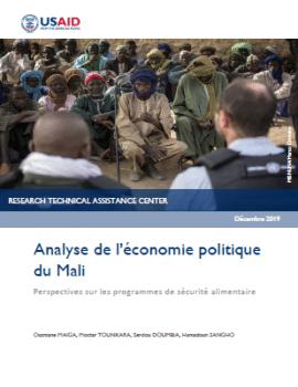 Rapport - Analyse de l'économie politique du Mali