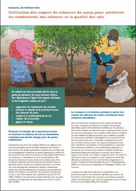 Manuel de formation - Utilisation des coques de cabosses de cacao pour améliorer les rendements des cultures et la qualité des sols