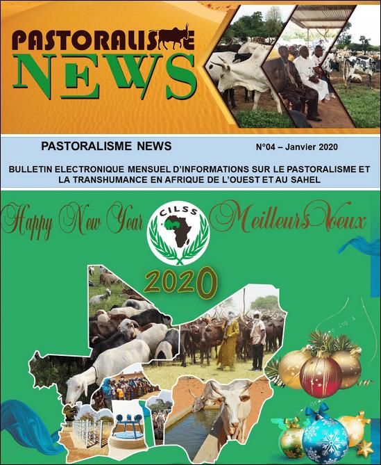 Bulletin mensuel Pastoralisme et transhumance en Afrique de l'Ouest et au Sahel - Janvier 2020