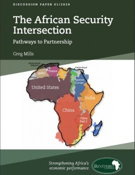 Paper :  The African Security Intersection - Pathways to Partnership