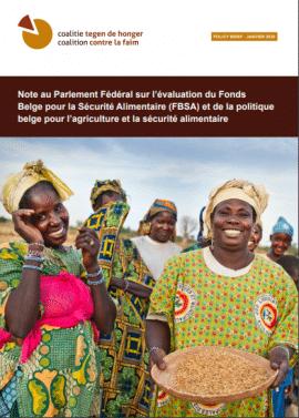 Policy brief: La politique belge de coopération est inefficace pour éradiquer la faim