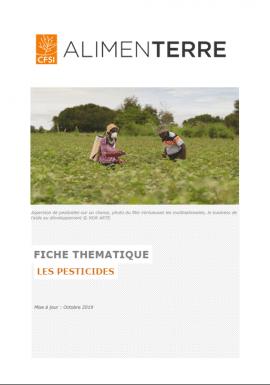 Fiche thématique - Les pesticides
