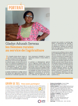 Portrait - Gladys Adusah Serwaa