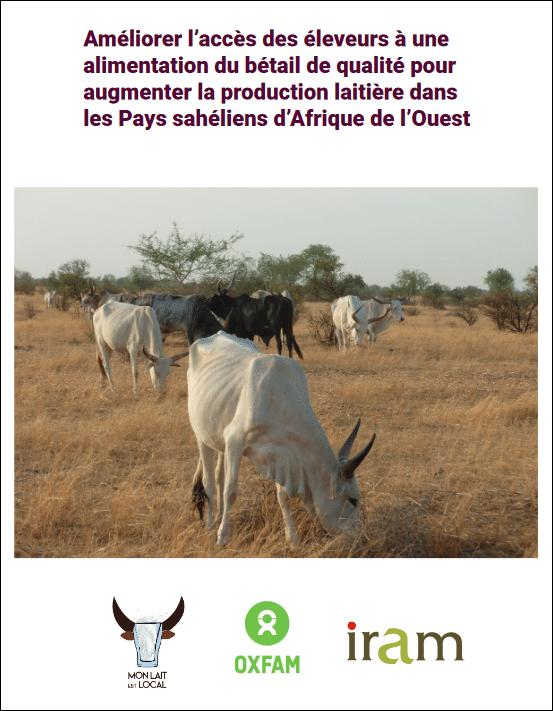 Note thématique -Améliorer l'accès des éleveurs à une alimentation du bétail de qualité pour augmenter la production laitière dans les Pays sahéliens d'Afrique de l'Ouest