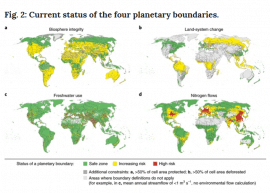 Article - Feeding ten billion people is possible within four terrestrial planetary boundaries