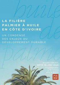 Note:  La filière palmier à huile en Côte d'ivoire