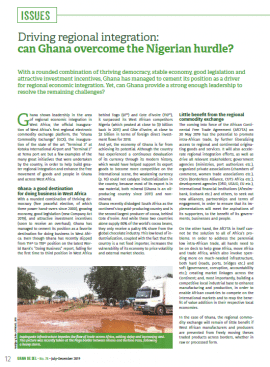 Driving regional integration: can Ghana overcome the Nigerian hurdle?