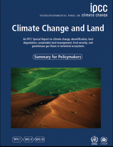 Rapport - Special Report on Climate Change and Land | IPCC
