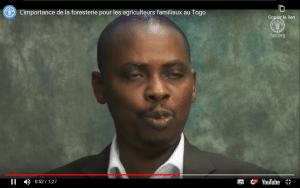 Entretien filmé - L'importance de la foresterie pour les agriculteurs familiaux au Togo