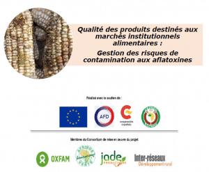 Note : Gestion des risques de contamination des produits destinés aux marchés institutionnels par les aflatoxines