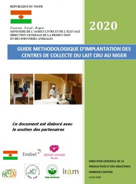 Guide méthodologique d'implantation des centres de collecte du lait cru au Niger
