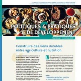 Note: Construire des liens durables entre agriculture et nutrition