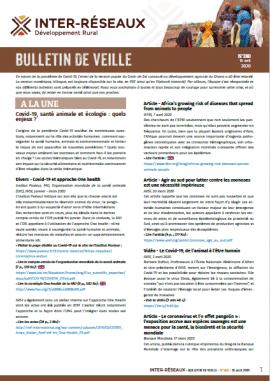 Bulletin de veille n°380
