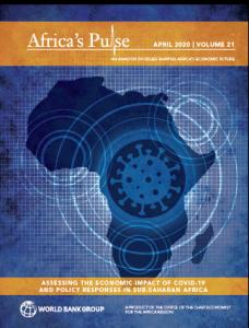 Rapport - ÉVALUATION DE L'IMPACT ÉCONOMIQUE DU COVID-19 ET DES RÉPONSES POLITIQUES EN AFRIQUE SUBSAHARIENNE