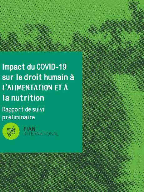 Rapport - Impact du Covid-19 sur le droit à l'alimentation et à la nutrition