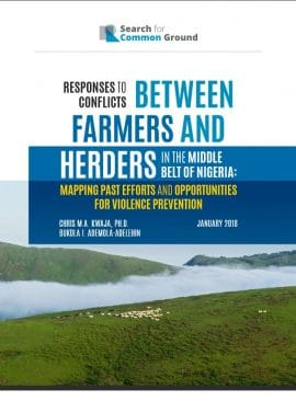Papers - Farmer-Herder Conflicts in Nigeria and Beyond
