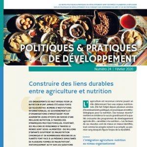 Note - Construire des liens durables entre agriculture et nutrition