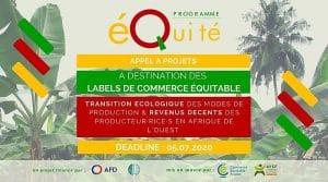 Appel à projets - Labels de commerce équitable en Afrique de l'Ouest