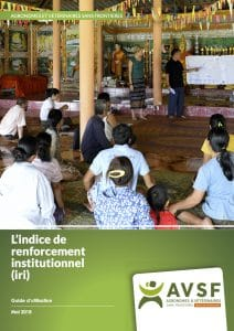 L'indice de renforcement institutionnel (IRI) : guide d'utilisation