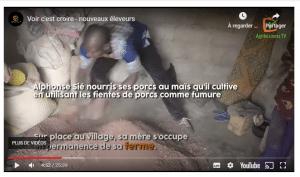 Vidéo: Voir c'est croire – nouveaux éleveurs au Burkina Faso