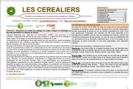 """Bulletin """"Les céréaliers"""" - Avril 2020"""