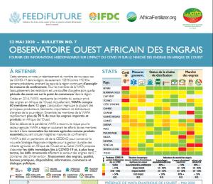 Bulletin - Engrais Afrique de l'Ouest