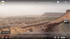 """Vidéo - Bonnes pratiques oasiennes : Système d'irrigation """"californien"""""""
