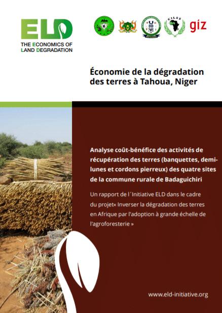Rapport : Analyse coût-bénéfice des activités de récupération des terres à Tahoua au Niger
