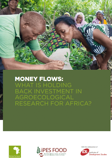 Rapport - Money flows: What is holding back investment in agroecologicals research for Africa?