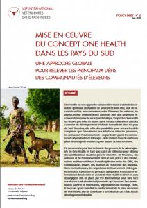 Policy brief - Mise en œuvre du concept One Health dans les pays du Sud : une approche globale pour relever les principaux défis des communautés d'éleveurs