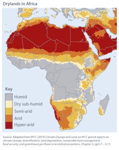 Rapport - Le rapport spécial du GIEC sur le changement climatique et les terres émergées - Quels impacts pour l'Afrique ?