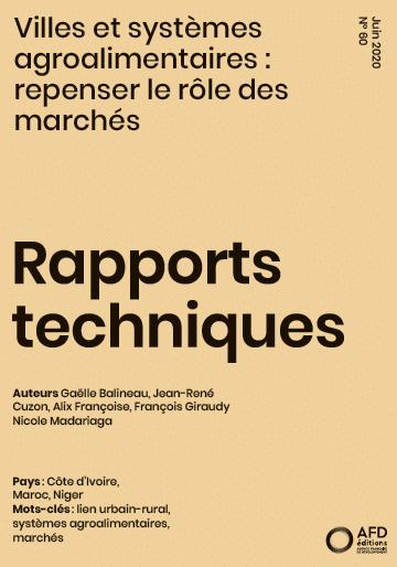 Rapport : Les systèmes agroalimentaires en Afrique - repenser le rôle des marchés