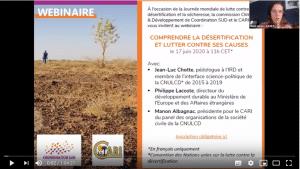 Webinaire - Comprendre la désertification et lutter contre ses causes