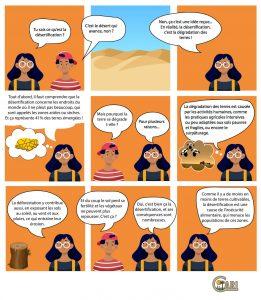 Bande dessinée - Qu'est-ce que la désertification?