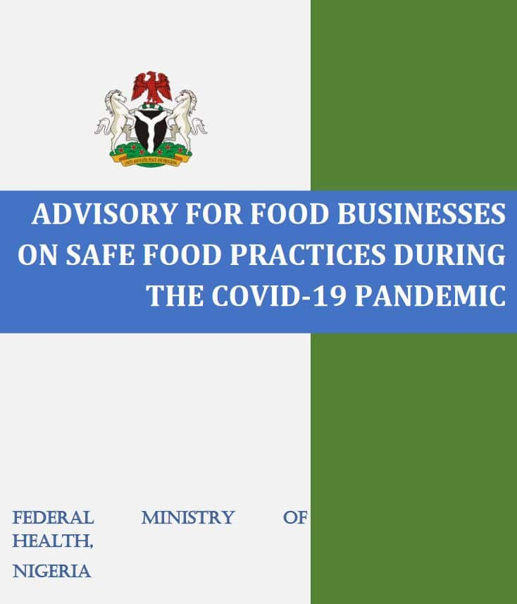Advisory for Food Businesses for Safe Food Practices during Covid-19 Pandemic