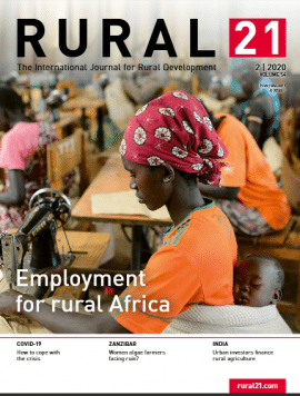 Revue - Rural 21 - Volume 54 - Employment for rural Africa