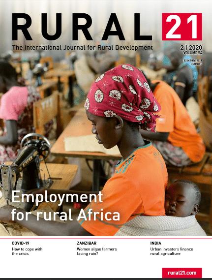 Revue - Rural 21 - Volume 54 - Employment for rural Africa