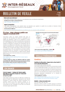 Bulletin de veille n°388
