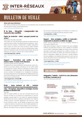 Bulletin de veille n°389