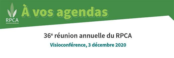 36ème réunion annuelle du RPCA